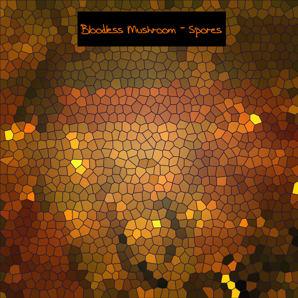 Spores by Bloodless Mushroom Album Cover