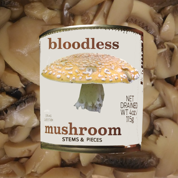 Stems and Pieces by Bloodless Mushroom Album Cover